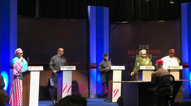 2019: What Nigerians said about vice-presidential debate