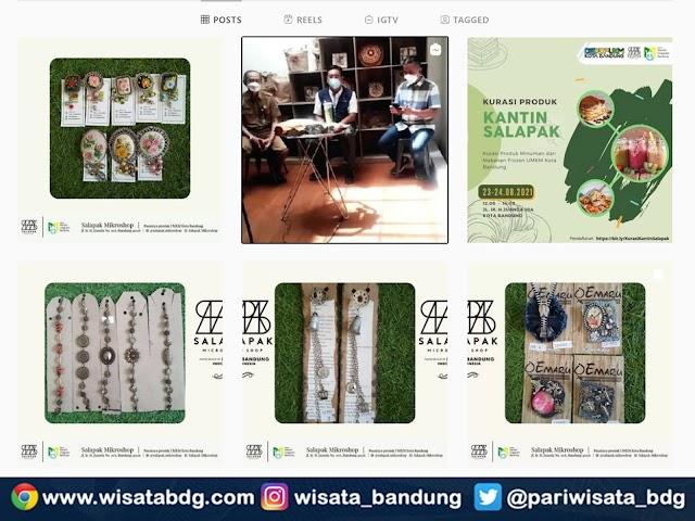 Salapak, Pemasaran Produk Pelaku UMKM Kota Bandung di Dago
