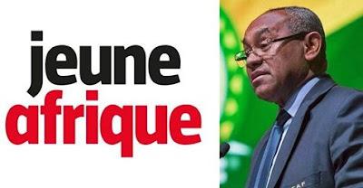افادت مجلة Jeune Afrique بأن رئيس الكاف أحمد أحمد قد وقع ايقافه في باريس..