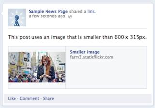 Solusi Gambar Mengecil Saat Share Artikel ke Facebook