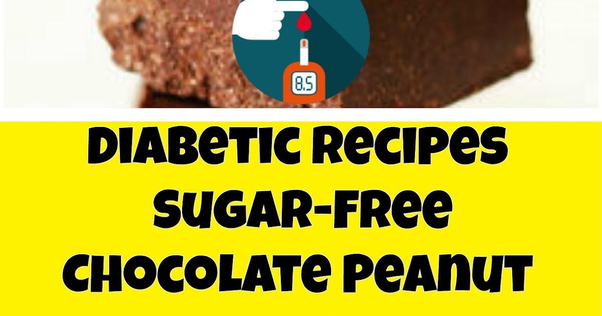 Diabetic Chocolate Peanut Butter Fudge