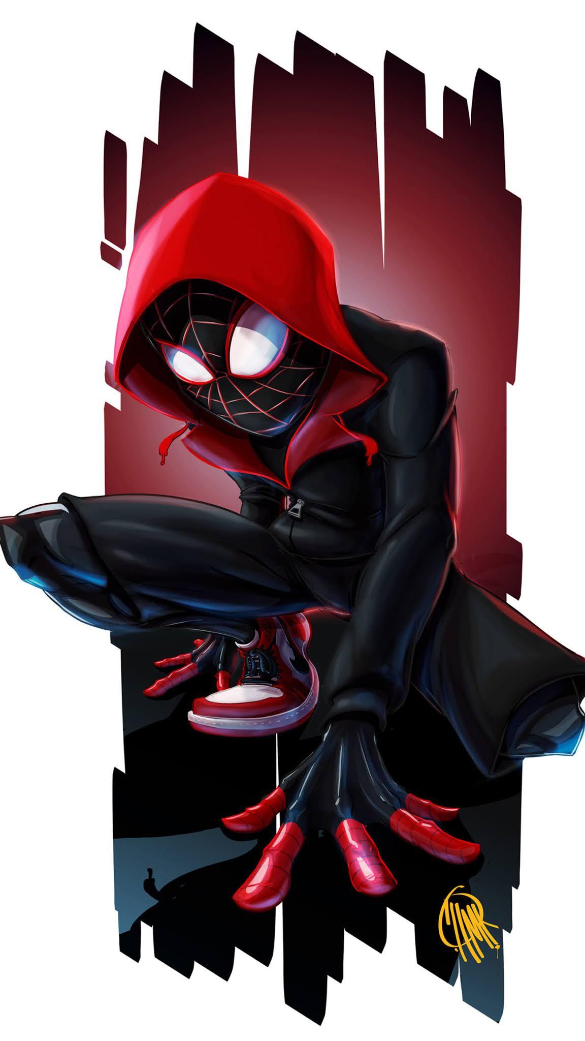 Spiderman Miles Morales Art 4k wallpaper
