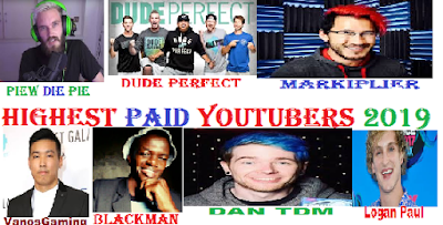 Highest Earning Youtubers in 2019