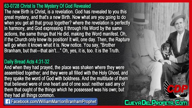 When will the Rapture happen - William Branham Quotes