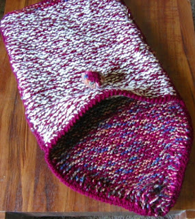Personal Laptop Sleeve for Ruth Sandra Sperling - Handmade Knitted Herself! - Email for Custom Order