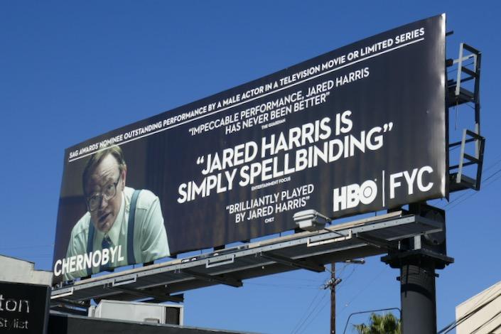 Jared Harris Chernobyl SAG Awards billboard
