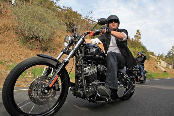 harga motor bekas: harley davidson, 2011 model motor