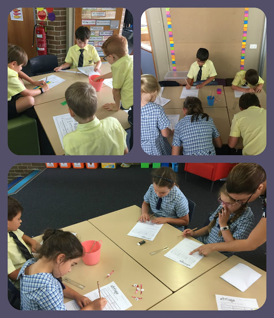 Learning about metres and centimetres