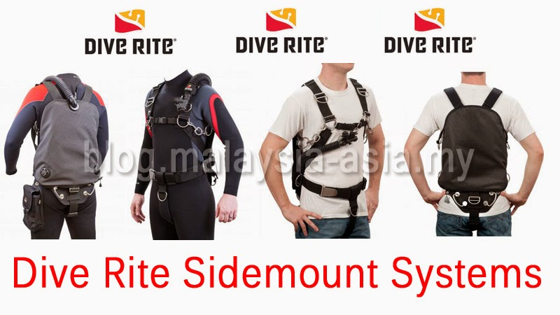 Dive Rite Sidemount Systems in Malaysia