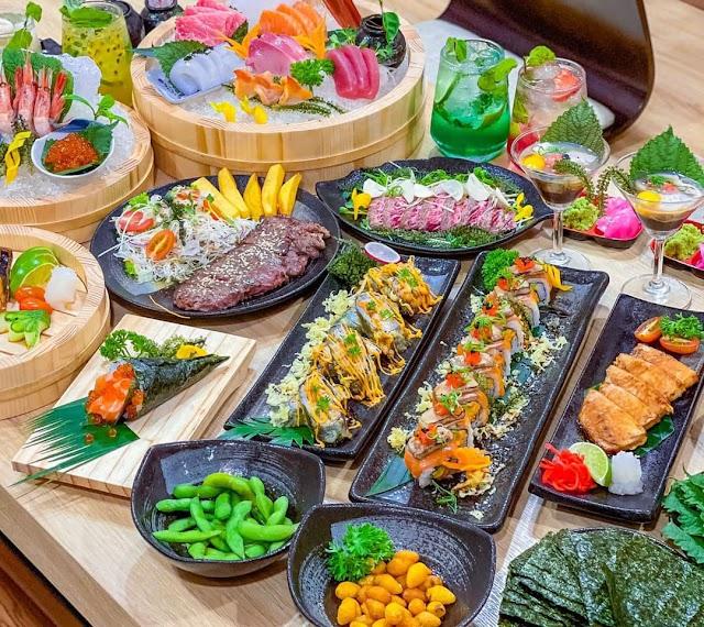 Địa chỉ Sushi KO: 11 Hoa Phượng, Phường 2, Phú Nhuận