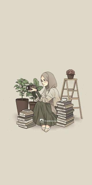 Gambar Kartun Muslimah Download