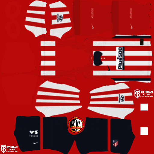 Kits Atletico Madrid 2021 - Dream League Soccer 2021