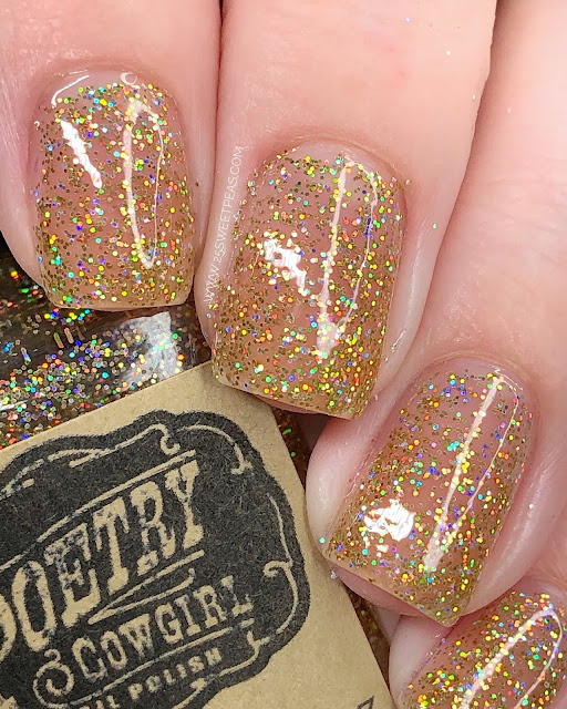Poetry Cowgirl Nail Polish 24 Karat