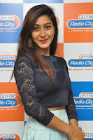 Shravya in skirt and tight top at Vana Villu Movie First Song launch at radio city 91.1 FM ~  Exclusive 32.JPG