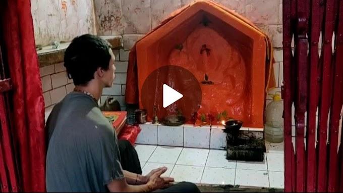 देवप्रयाग के हनुमान मंदिर में  रुसी पर्यटक कर रहा नियमित पूजा बनी कौतूहल का  विषय-देखिए वीडियो में
