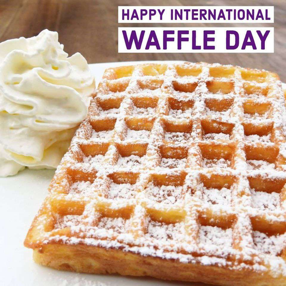 International Waffle Day Wishes for Instagram