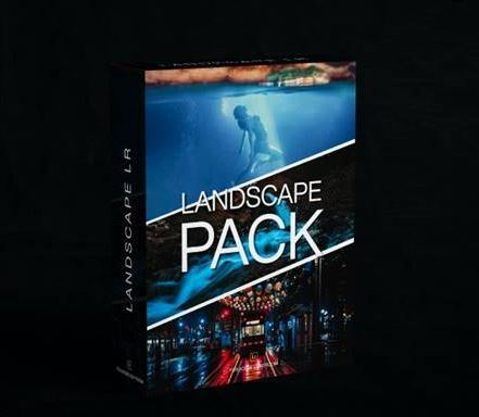 Preset Lightroom Landscape Kit cho phong cảnh (Mobile/Desktop)