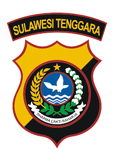 Polda Sulawesi Tenggara Logo Vector download free