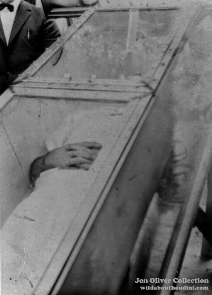 Wild About Harry Uncovering Houdini S Third Air Tight Container Test And Death Casket