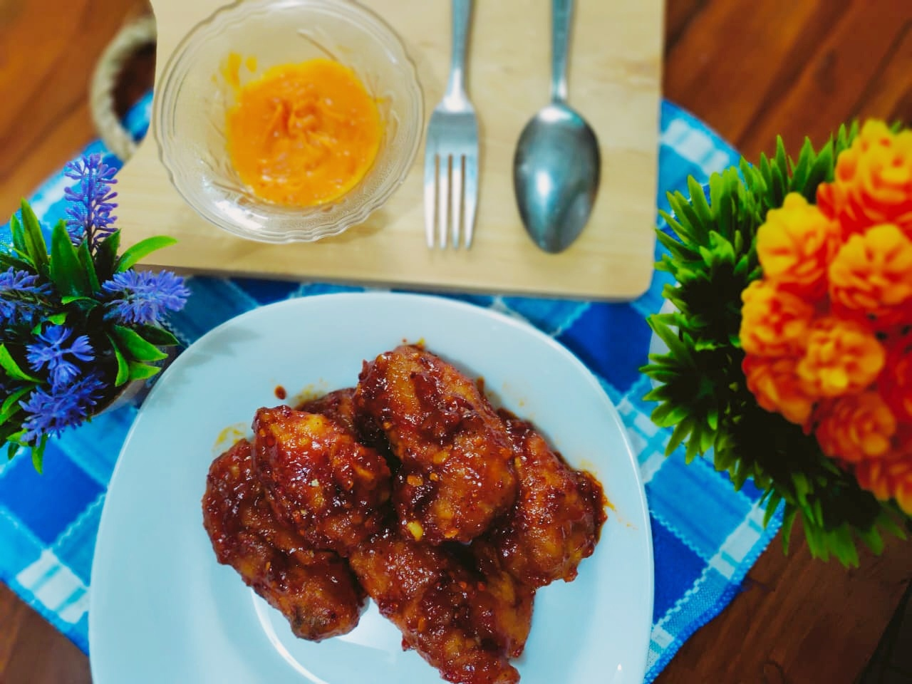 Resep Ayam Richeese Fire Wings