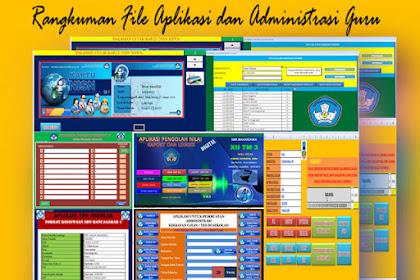 Rangkuman File Aplikasi dan Administrasi Guru Terlengkap