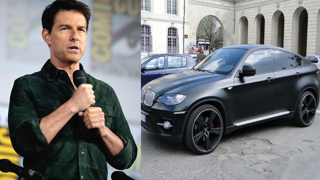 Tom Cruise's BMW Stolen During 'Mission: Impossible' Shooting