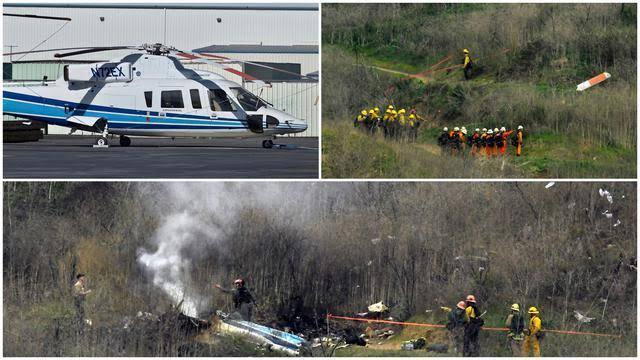 Korban Lain Dalam Kecelakaan Helikopter Kobe Bryant