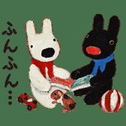 가스파드 앤 리사 애니메이션 스티커