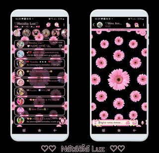 Flowers Theme For YOWhatsApp & Ra WhatsApp By Natalia Luz