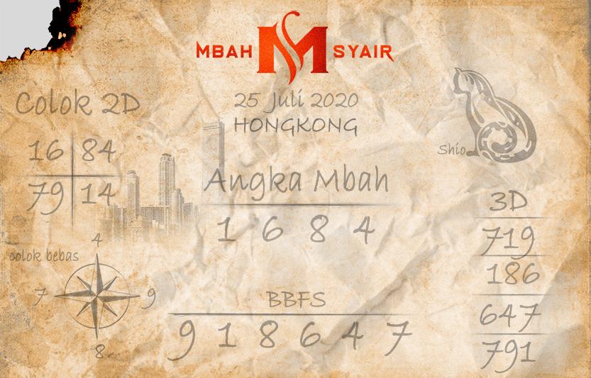 Kode syair Hongkong Sabtu 25 Juli 2020 8