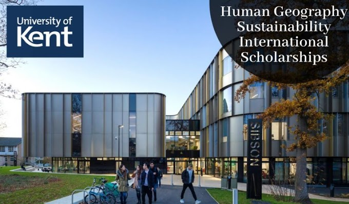 Human Geography Sustainability international awards at University of Kent in UK, 2020