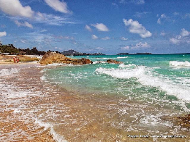 Koh Samui: águas verdes e cristalinas