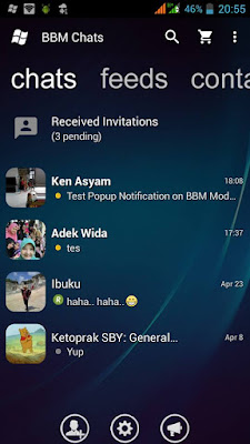 BBM Mod WP Trans v2.13.1.14 Apk