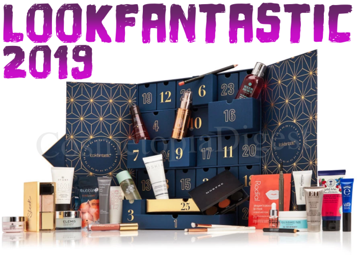 Here are full spoilers and contents of the LookFantastic Beauty Advent Calendar for 2019.
