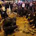Hong Kong activists, police, clash over holiday food stalls