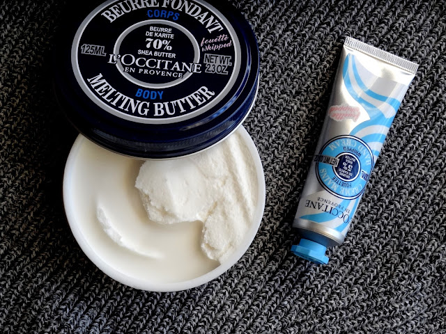 L'Occitane Shea Melting Body Butter & Shea Whipped Hand Cream