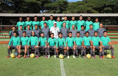 Daftar Nama-nama Pemain Timnas Indonesia untuk AFF 2016
