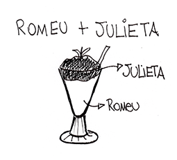 Prato De Papel Romeu E Julieta