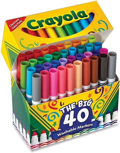 Crayola Markers - 40 Pack