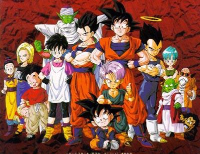 Karakter Dragon Ball Karakter Dragon Ball Z