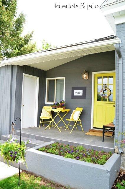 foto inspiratif model teras rumah minimalis masa kini
