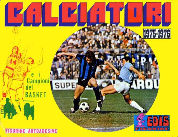 Rec EDIS CALCIATORI 1975//76-Figurina n.282 TORINO CAPORALE