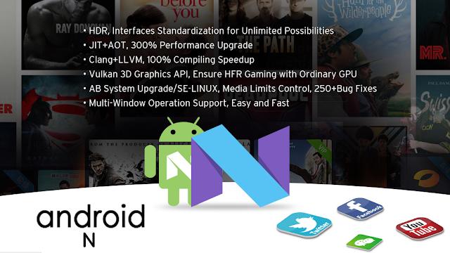 HiMedia Q10 Pro Nougat 7.0 update.
