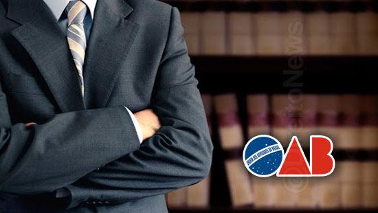 oab seccionais legitimidade assistente defesa advogados