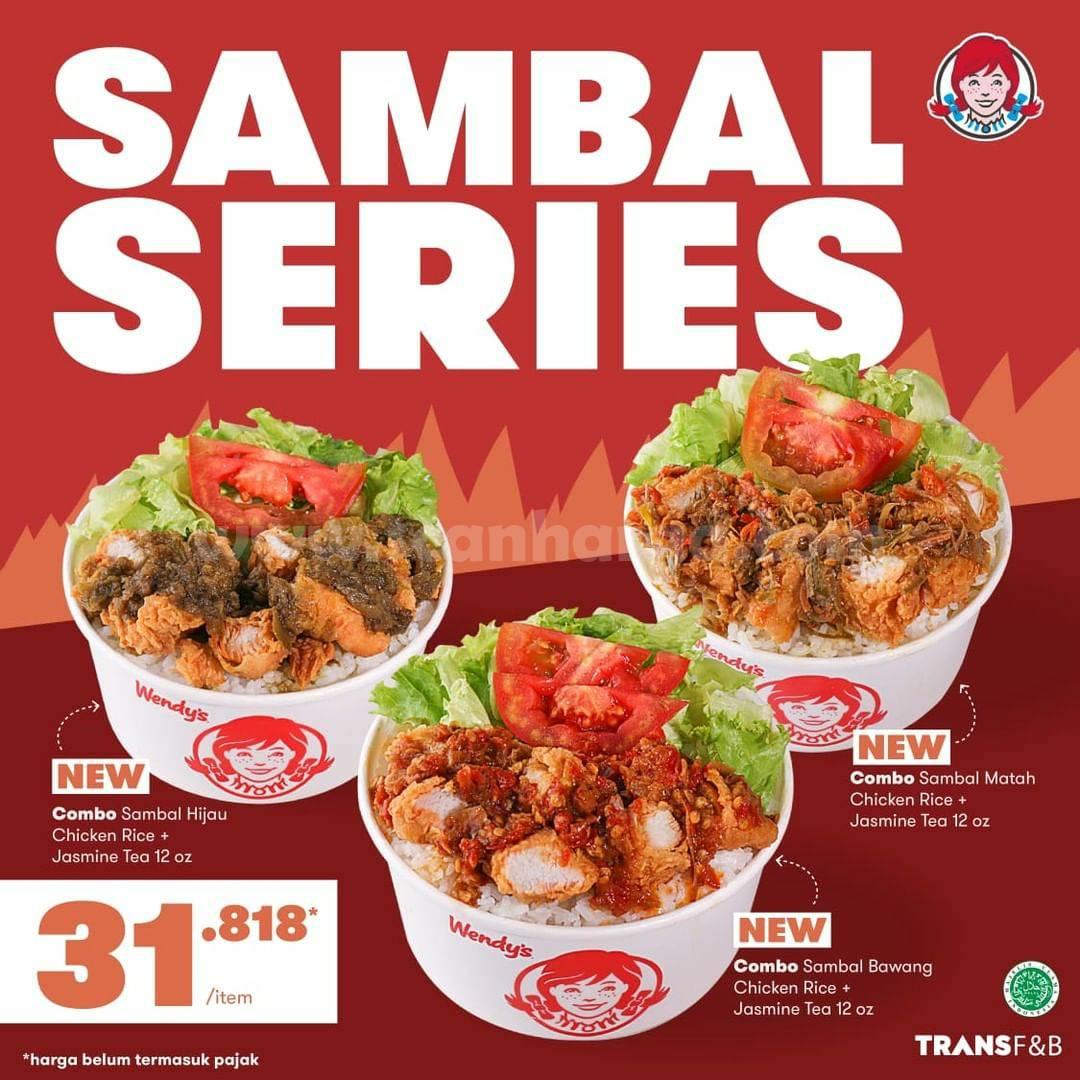 Promo Wendys Sambal Series - harga Spesial cuma Rp 31.818