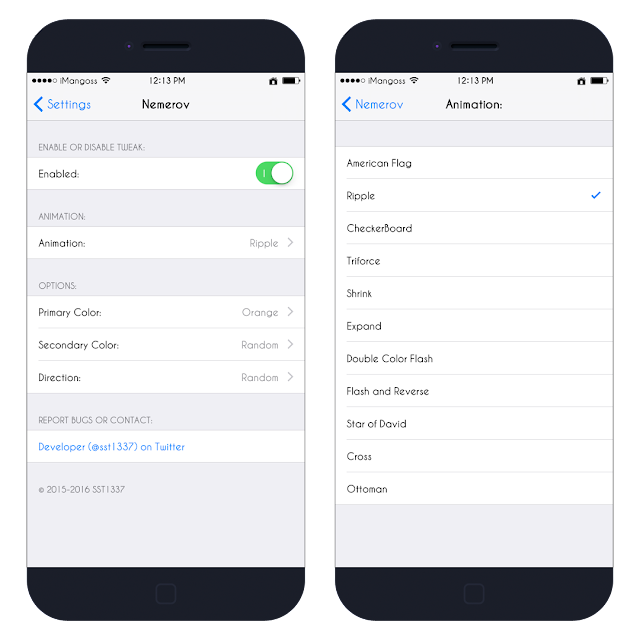 Bored of the same flashing screenshot animation on your iOS devices?