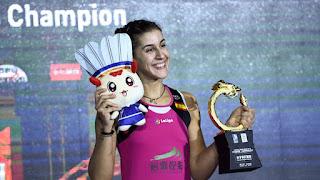 BÁDMINTON - Vuelta triunfal de Carolina Marín en el Open de China