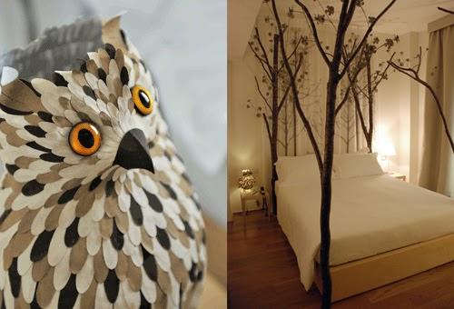 My Owl Barn Owl Lamp At Maison Moschino