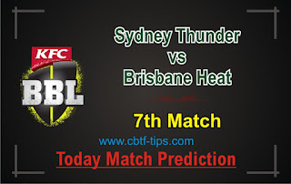 SYT vs BRH 7th Match Who will win Today BBL T20? Cricfrog