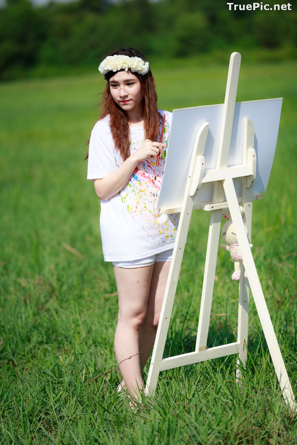 Image Vietnamese Model - How To Beautiful Angel Become An Painter - TruePic.net - Picture-4